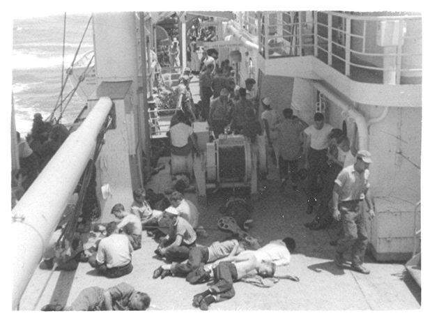 Aboard the General Howze (the lousy Howsie) to Okinawa 1950