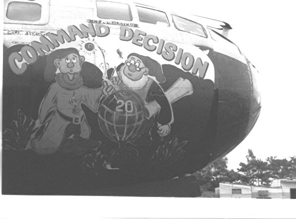 Command Decision, a B-29 at Kadena Air Base, Okinawa 1951