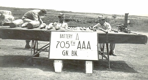 Battery A, 705 Anti-aircraft Artillery