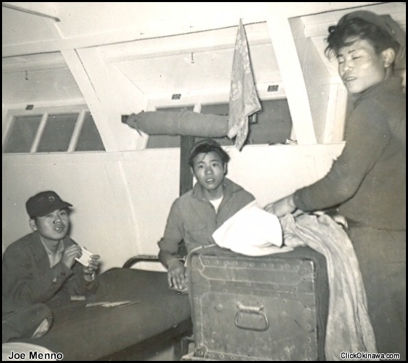 354 - Okinawans in the bunkhouse
